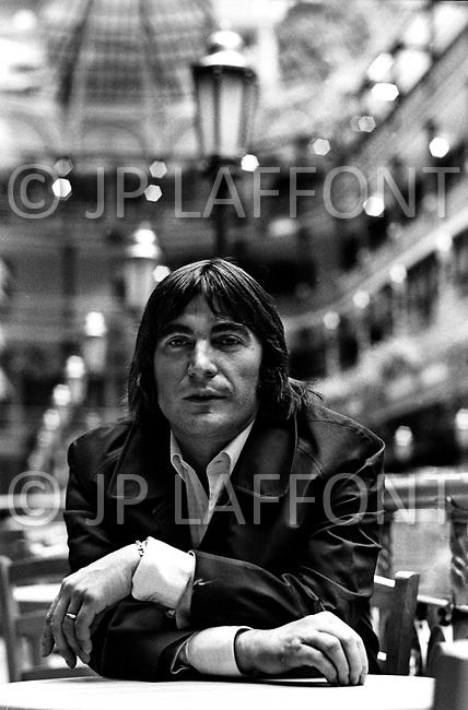 Cleveland, Ohio, September 28th, 1979 - French Singer Serge Lama visits Cleveland.