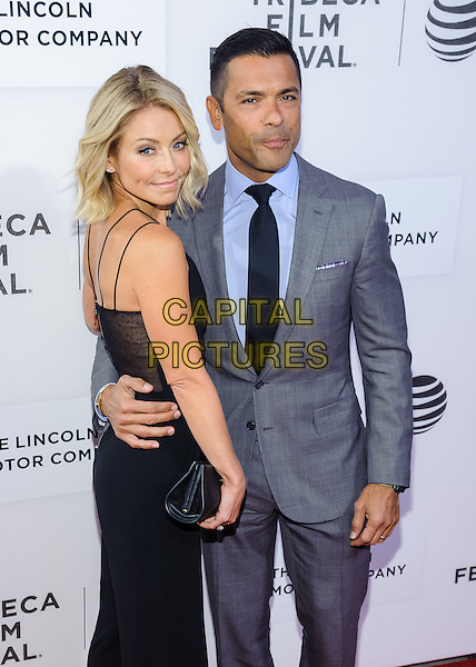 15 April 2016 - New York, New York- Kelly Ripa, Mark Consuelos. &quot;All We Had&quot; screening at Tribeca Film Festival 2016. <br /> CAP/ADM/MS<br /> &copy;MS/ADM/Capital Pictures