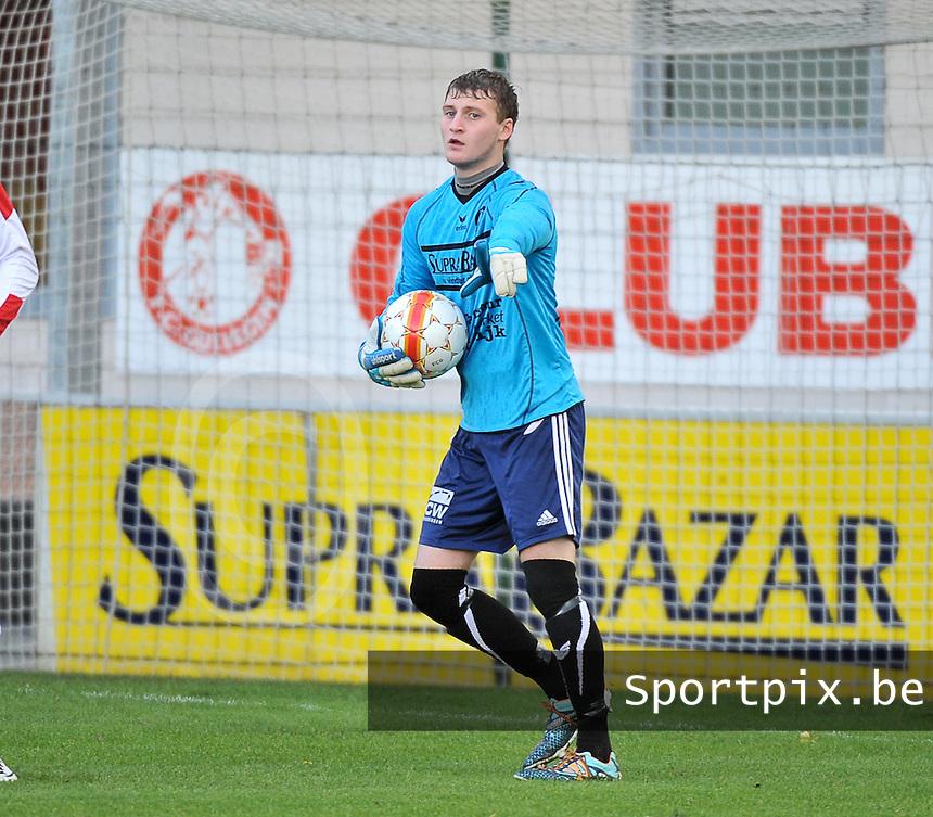 FC Gullegem : Anthony Degrendel<br /> foto VDB / Bart Vandenbroucke