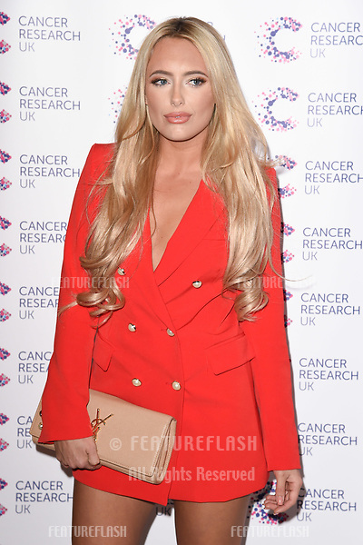 Amber Turner arriving at James Ingham&rsquo;s Jog On to Cancer, in aid of Cancer Research UK at The Roof Gardens in Kensington, London.  <br /> 12 April  2017<br /> Picture: Steve Vas/Featureflash/SilverHub 0208 004 5359 sales@silverhubmedia.com