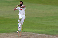 Ravi Bopara of Essex in bowling action during Warwickshire CCC vs Essex CCC, Specsavers County Championship Division 1 Cricket at Edgbaston Stadium on 10th September 2019