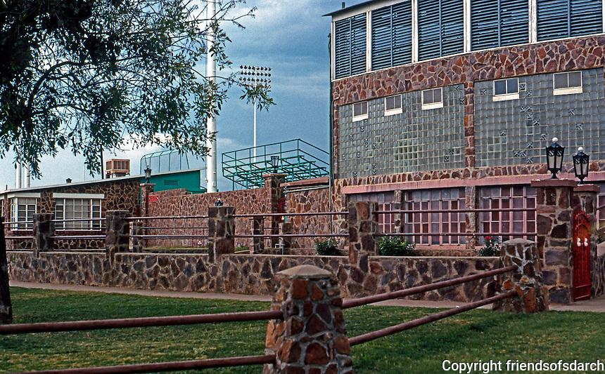 Ballparks: Alpine, TX. Kokernot Field.