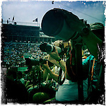 Roland Garros. Paris, France. May 30th 2012.Photographers at work