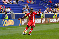 Harrison, NJ - Friday July 07, 2017: David Junior Hoilett during a 2017 CONCACAF Gold Cup Group A match between the men's national teams of French Guiana (GUF) and Canada (CAN) at Red Bull Arena.