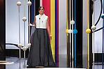 Elena Sanchez during the 63rd Donostia Zinemaldia opening ceremony (San Sebastian International Film Festival) in San Sebastian, Spain. September 18, 2015. (ALTERPHOTOS/Victor Blanco)