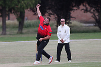 Marc Whitlock of Hornchurch during Hornchurch CC vs Buckhurst Hill CC (batting), Essex Cricket League Cricket at Harrow Lodge Park on 25th July 2020