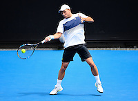 ANDREAS SEPPI (ITA)<br /> <br /> TENNIS , AUSTRALIAN OPEN,  MELBOURNE PARK, MELBOURNE, VICTORIA, AUSTRALIA, GRAND SLAM, HARD COURT, OUTDOOR, ITF, ATP, WTA<br /> <br /> &copy; TENNIS PHOTO NETWORK