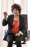 22 June 2015, Ruby Wax talks to a Women's City Networking Event about her battle with mental health issues and her new book 'Sane New World'.  London, UK.