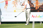 Steven O'Hara (SCO) in action on the 16th tee during Day 1 Thursday of the Open de Andalucia de Golf at Parador Golf Club Malaga 24th March 2011. (Photo Eoin Clarke/Golffile 2011)