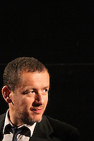 EXCLUSIVE Dany Boon<br /> Los Angeles<br /> September 14 2011<br /> Dany Boon answer questions between NOTHING TO DECLARE and WELCOME TO THE STICKS during the  American Cinematheque's Dany Boon Tribute at the Egyptian Theatre in Hollywood<br /> ID revpix110914001<br /> All pictures must be credited Louis Delavenne/revolutionpix