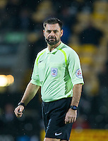 Referee Eddie Ilderton during the Sky Bet League 2 match between Notts County and Wycombe Wanderers at Meadow Lane, Nottingham, England on 10 December 2016. Photo by Andy Rowland.