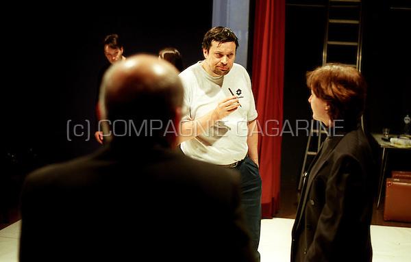 """Theatre company De Reynaertghesellen playing """"Knecht Van Twee Meesters"""" from Carlo Goldoni directed by Marc De Marrée (Belgium, 06/02/2003)"""