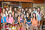 Sweet Sixteen: Ina Dema, Caherslee, Tralee (seated centre) had a fab time celebrating her 16th birthday last Saturday night in IL Pomo Doro, Tralee along with many friends and family.