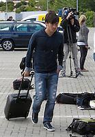 MADRID, ESPANHA, 21 MAIO 2012 - APRESENTACAO SELECAO ESPANHOLA - Jogador David Silva durante chegada nessa terca-feira (21) a cidade de Las Rozas de Futebol, para concentracao da selecao espanhola para os amistosos contra as Seleçoes da Suíça, a Servia e Coreia do Sul.FOTO: ALEX CID-FUENTES - ALFAQUI - BRAZIL PHOTO PRESS