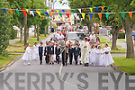 PROCESSION: The St Brendan's Church Corpus Christi Procession going through St Brendan's Park on Sunday.