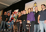 Daniel Cosgrove (R) - Guiding Light cast - So Long Springfield celebrating 7 wonderful decades of Guiding Light Event (Saturday afternoon) come to see fans at the Hyatt Regency Pittsburgh International Airport, in Pittsburgh, PA. during the weekend of October 24 and 25, 2009. (Photo by Sue Coflin/Max Photos)