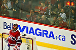 10 April 2010: Montreal Canadiens' goaltender Jaroslav Halak gives up a first period goal to the Toronto Maple Leafs at the Bell Centre in Montreal, Quebec, Canada. The Maple Leafs defeated the Canadiens 4-3 in sudden death overtime. Mandatory Credit: Ed Wolfstein Photo