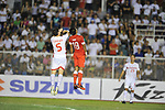 Philippines vs Singapore during the AFF Suzuki Cup 2012 semi final match on December 08, 2012 at the Rizal Memorial Stadium in Manila, Philippines. Photo by World Sport Group