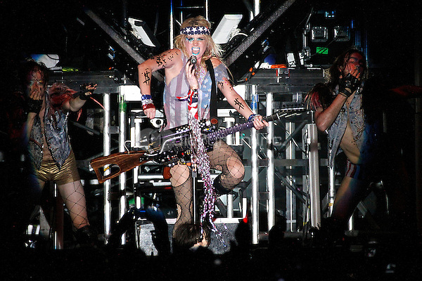 Ke$ha performing on her Get Sleazy Tour at Festival Pier in Philadelphia, Pa on August 17, 2011  © Star Shooter / MediaPunchInc