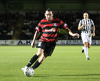 Michael Moffat in the St Mirren v Ayr United Scottish Communities League Cup match played at St Mirren Park, Paisley on 29.8.12.