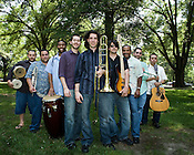 June 06, 2008. Durham, NC..North Carolina based salsa band, Orquesta GarDel.