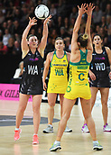 5th October 2017, Spark Arena, Auckland, New Zealand; Constellation Cup, New Zealand Silver Ferns versus Australia Diamonds;   New Zealand's Gina Crampton