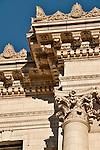 Detail of a column capital in San Francisco, California