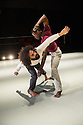 Ipswich, UK. 15.02.2014. Luca Silvestrini's PROTEIN present BORDER TALES at Dance East, Jerwood DanceHouse. Picture shows:  Salah el Brogy and Femi Oyewole. Photograph © Jane Hobson.