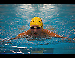 Charlotte NC - Swimmer at the Mecklenburg Aquatic Center