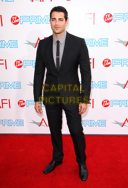 JESSE METCALFE .37th Annual AFI Lifetime Achievement Awards held at Sony Pictures Studios, Culver City, California, USA..June 11th, 2009.full length black suit shirt grey gray .CAP/ADM/KB.©Kevan Brooks/AdMedia/Capital Pictures.