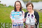 Peig O'Sullivan and Norma Foley from Kilcummin who are holding a series of fund-raisers which will culminate in a sky-dive for the Kerry Cancer Health-link bus. .