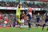 Lukasz Fabianski of West Ham Unite jumps and catches a cross during Arsenal vs West Ham United, Premier League Football at the Emirates Stadium on 7th March 2020