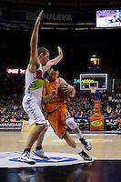 Martínez vs Iverson<br /> Euroleague - 2014/15<br /> Regular season Round 4<br /> Valencia Basket vs Laboral Kutxa Vitoria