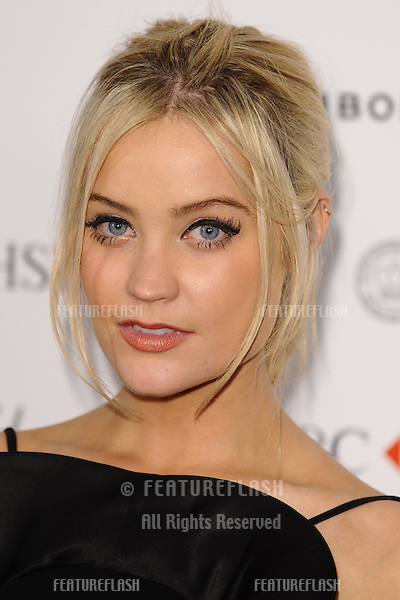 Laura Whitmore arriving for the Marie Claire's 25th Anniversary celebration at the Cafe Royal Hotel, London. 17/09/2013 Picture by: Alexandra Glen / Featureflash