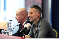 Ryan Giggs Manager of Wales during the Wales FA Press Conference at Nathaniel Car Sales in Bridgend, Wales, UK. Tuesday 5 November 2019