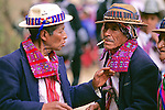 Two Men Greeting Todos Santos Festival