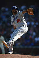 SAN FRANCISCO, CA - SEPTEMBER 28:  Kenley Jansen #74 of the Los Angeles Dodgers pitches against the San Francisco Giants during the game at Oracle Park on Saturday, September 28, 2019 in San Francisco, California. (Photo by Brad Mangin)