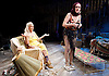 Grey Gardens<br /> Book by Doug Wright<br /> Music by Scott Frankel<br /> Lyrics by Michael Korie<br /> produced by Danielle Tarento<br /> at The Southwark Playhouse, London, Great Britain <br /> press photocall<br /> 7th January 2016 <br /> <br /> directed by Thom Southerland<br /> <br /> <br /> Sheila Hancock as Edith Bouvier Beale<br /> <br /> Jenna Russell as 'Little' Edie Beale<br /> <br /> <br /> <br /> <br /> Photograph by Elliott Franks <br /> Image licensed to Elliott Franks Photography Services