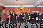 AGM: The AGM of the ONE Thomas Ashe Kerry Branch was held in the Imperial Hotel, Tralee, on Thursday night. Attending on the night were front l-r: John Mulhall, Mossie Roche, Michael Scannell (president), Liam Lynch and Ger Landers. Back l-r: Larry Keane, Sea?n Cleary, Teddy Moynihan, Diarmuid Lawlor, Marie Coleman, Frank Dowling, Gerry Stack, Patrick Clifford, Pat O'Shea, Pat O'Hara, Coleman O'Sullivan, Tom O'Connor, Ted Scanlon, Gerry O'Connor and Christy Switzer.   Copyright Kerry's Eye 2008