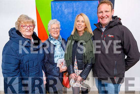 Attending the Kerry School of Music annual Born to Dance Show in Siamsa Tire on Sunday.<br /> Maire Behan and Maureen Fitzgerald with Maeve and Niall Behan from Moyvane