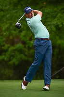 Michael Thompson (USA) watches his tee shot on 2 during round 4 of the Shell Houston Open, Golf Club of Houston, Houston, Texas, USA. 4/2/2017.<br /> Picture: Golffile | Ken Murray<br /> <br /> <br /> All photo usage must carry mandatory copyright credit (&copy; Golffile | Ken Murray)