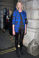 London - Arrivals at the Sass & Bide show at London Fashion Week Spring/Summer 2013,  London - 14 September 2012..Photo by Cliff Bass/People Press