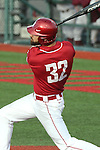 Yale Rosen watches a line drive head for a gap during the Pac-12 Conference tilt between the Washington State Cougars and the Arizona State Sun Devils at Bailey-Brayton Field in Pullman, Washington, on May 24, 2014.  The Cougars defeated the 21st ranked Sun Devils, 10-7.