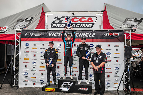 F4 US Championship<br /> Rounds 16-17-18<br /> Circuit of The Americas, Austin, TX USA<br /> Saturday 16 September 2017<br /> 41, Braden Eves 24, Benjamin Pedersen 8, Kyle Kirkwood<br /> World Copyright: Keith Daniel Rizzo<br /> LAT Images