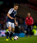 Scotland's James Forrest during the World Cup Qualifying Group F match at Hampden Park Stadium, Glasgow. Picture date 4th September 2017. Picture credit should read: Craig Watson/Sportimage
