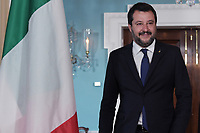 Washington, DC - June 17, 2019:  Italian Deputy Prime Minister Matteo Salvini meets with U.S. Secretary of State Mike Pompeo at the State Department in Washington D.C. June 17, 2019.  (Photo by Lenin Nolly/Media Images International)