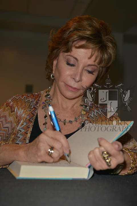 MIAMI, FL - NOVEMBER 15: Isabel Allende attends The Miami Book Fair at Miami Dade College Wolfson - Chapman Conference Center on November 15, 2017 in Miami, Florida.  ( Photo by Johnny Louis / jlnphotography.com )