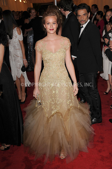"WWW.ACEPIXS.COM . . . . . .May 7, 2012...New York City....Leighton Meester attending the ""Schiaparelli and Prada: Impossible Conversations"" Costume Institute Gala at The Metropolitan Museum of Art in New York City on May 7, 2012  in New York City ....Please byline: KRISTIN CALLAHAN - ACEPIXS.COM.. . . . . . ..Ace Pictures, Inc: ..tel: (212) 243 8787 or (646) 769 0430..e-mail: info@acepixs.com..web: http://www.acepixs.com ."