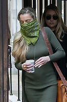 London, UK - 22 July 2020<br /> Whitney Heard attends libel trial against the Sun at The Royal Courts of Justice.<br /> CAP/JOR<br /> ©JOR/Capital Pictures