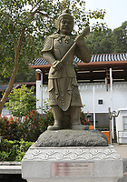 General views The Twelve Divine Generals - The General Andira - at Ngong Ping Village, Lantau Island, Hong Kong on 6.4.19.